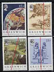 Great Britain 1984 Greenwich Meridian unmounted mint set of 4 SG 1254-57