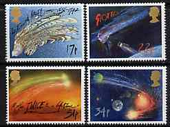 Great Britain 1986 Halley's Comet set of 4 unmounted mint, SG 1312-15