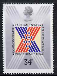 Great Britain 1986 Commonwealth Parliamentary Association Conference unmounted mint, SG 1335