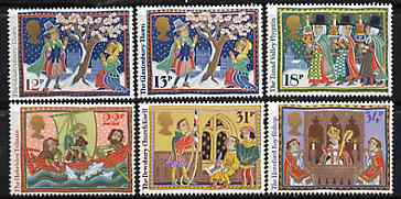 Great Britain 1986 Christmas - Folk Customs set of 6 unmounted mint SG 1341-46