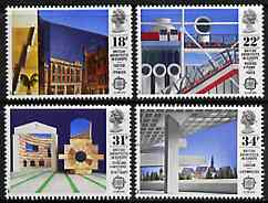 Great Britain 1987 Europa - British Architects set of 4 unmounted mint, SG 1355-58