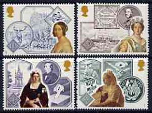 Great Britain 1987 Queen Victoria's Accession 150th Anniversary unmounted mint set of 4, SG 1367-70