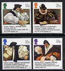 Great Britain 1988 Welsh Bible 400th Anniversary set of 4 unmounted mint, SG 1384-87