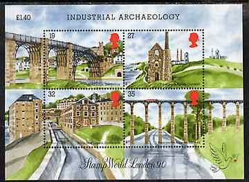 Great Britain 1989 Industrial Archaeology m/sheet unmounted mint SG MS 1444