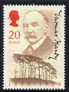 Great Britain 1990 Thomas Hardy 150th Birth Anniversary (Author) unmounted mint, SG1506