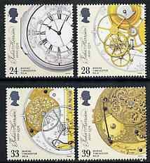 Great Britain 1993 Marine Timepieces (John Harrison Anniversary) set of 4 unmounted mint, SG 1654-57