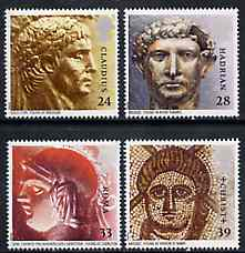 Great Britain 1993 Roman Britain set of 4 unmounted mint. SG 1771-74