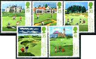 Great Britain 1994 Scottish Golf Courses set of 5 unmounted mint SG 1829-33