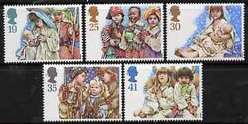 Great Britain 1994 Christmas - Children's Nativity Plays set of 5 unmounted mint SG 1843-47