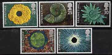 Great Britain 1995 The Four Seasons - Springtime set of 5 unmounted mint SG 1853-57