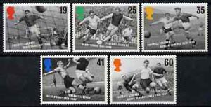 Great Britain 1996 European Football Championship set of 5 unmounted mint, SG 1925-29