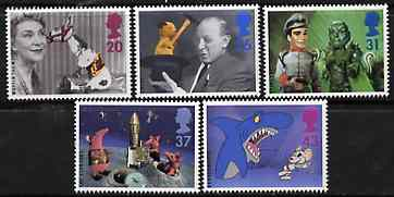 Great Britain 1996 Children's Television unmounted mint set of 5 SG 1940-44