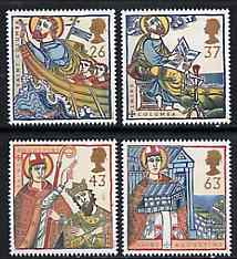 Great Britain 1997 Religious Anniversaries set of 4 unmounted mint SG 1972-75