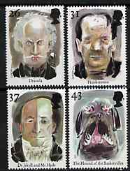 Great Britain 1997 Europa - Characters from Horror Movies set of 4 unmounted mint SG 1980-83
