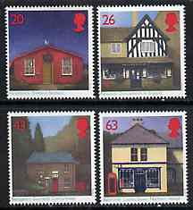 Great Britain 1997 Sub Post Offices set of 4 unmounted mint SG 1997-2000