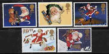 Great Britain 1997 Christmas set of 5 unmounted mint SG 2006-10*