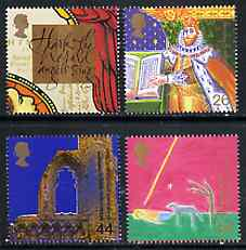 Great Britain 1999 Millennium Series #11 - the Christian's Tale set of 4 unmounted mint SG 2115-18