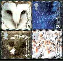 Great Britain 2000 Millennium Projects #01 - Above And Beyond set of 4 unmounted mint SG 2125-28
