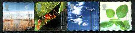 Great Britain 2000 Millennium Projects #04 - Life And Earth set of 4 unmounted mint SG 2138-41