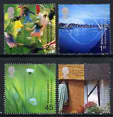 Great Britain 2000 Millennium Projects #06 - People & Places set of 4 unmounted mint SG 2148-51