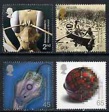 Great Britain 2000 Millennium Projects #09 - Mind & Matter set of 4 unmounted mint SG 2162-65