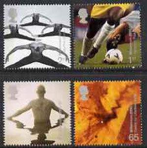 Great Britain 2000 Millennium Projects #10 - Body & Bone set of 4 unmounted mint SG 2166-69