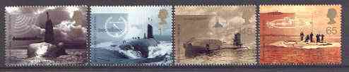Great Britain 2001 Submarines set of 4 unmounted mint SG 2202-05*