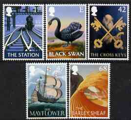Great Britain 2003 Pub Signs perf set of 5 unmounted mint SG 2392-96