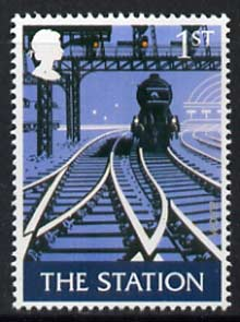 Great Britain 2003 The Station (1st class value) from Pub Signs perf set of 5 unmounted mint, SG 2392