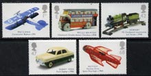 Great Britain 2003 Transport of Delight (Toys) perf set of 5 values unmounted mint, SG 2397-2401