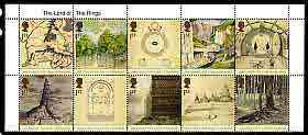 Great Britain 2004 Lord of the Rings se-tenant block of 10 unmounted mint SG 2429a