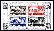 Great Britain 2005 50th Anniversary of First Castles definitive perf m/sheet unmounted mint