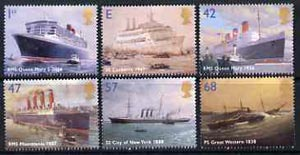 Great Britain 2004 Ocean Liners perf set of 6 unmounted mint SG 2448-53