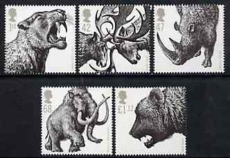 Great Britain 2006 Ice Age Animals perf set of 5 unmounted mint SG 2615-19