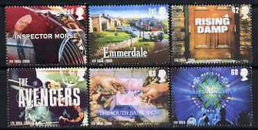 Great Britain 2005 50th Anniversary of Independent Television perf set of 6 unmounted mint SG 2561-66