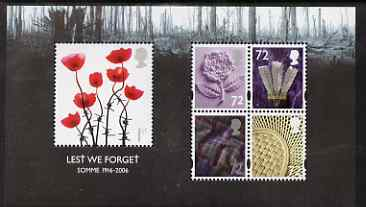 Great Britain 2006 Lest We Forget m/sheet unmounted mint SG MS 2685