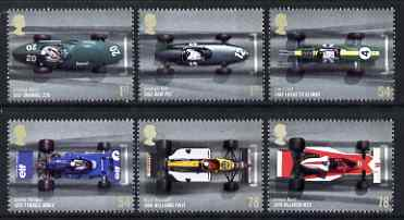 Great Britain 2007 Grand Prix perf set of 6 unmounted mint SG 2744-49