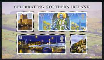 Great Britain 2008 Celebrating Northern Ireland perf m/sheet unmounted mint SG MS NI 110