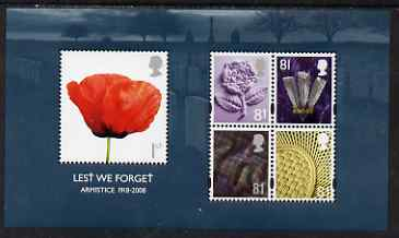 Great Britain 2008 Lest We Forget m/sheet unmounted mint SG MS 2886