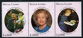 Sierra Leone 1996 The Queen