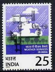 India 1975 Centenary of Indian Meteorological Dept unmounted mint, SG 795*