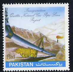 Pakistan 1983 Inauguration of Quetta Natural Gas Pipeline unmounted mint, SG 590*