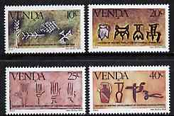 Venda 1984 History of Writing #3 set of 4 unmounted mint, SG 87-90*