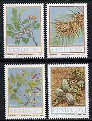 Venda 1987 Food from the Veld #2 set of 4 unmounted mint, SG 163-66*