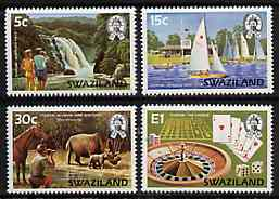 Swaziland 1981 Tourism set of 4 unmounted mint, SG 372-75*