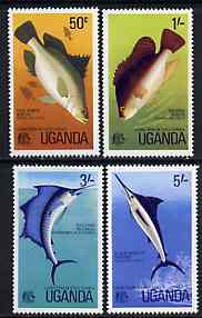 Uganda 1977 Game Fish of East Africa set of 4 unmounted mint, SG 178-81*