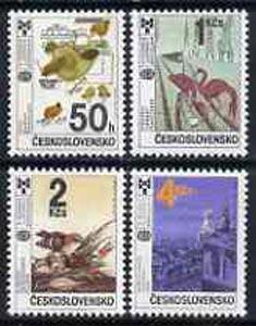 Czechoslovakia 1987 Bratislavia Book illustrations Exhibition set of 4 unmounted mint, SG 2890-93, Mi 2921-24*