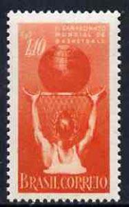 Brazil 1954 2nd World Basketball Championship, SG 916*
