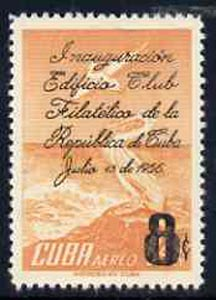 Cuba 1956 Philatelic Club opt on 24c Pelican unmounted mint, SG 788*