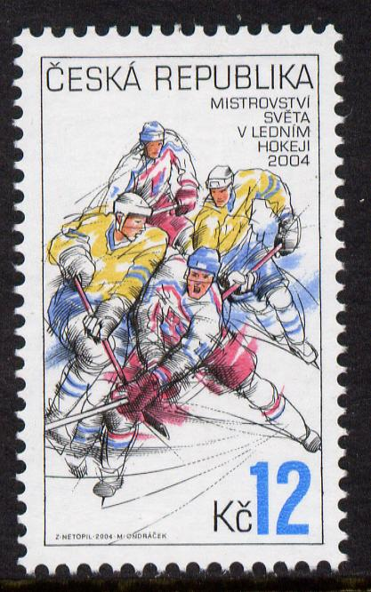 Czech Republic 2004 Ice Hockey Championships 12k unmounted mint SG 394